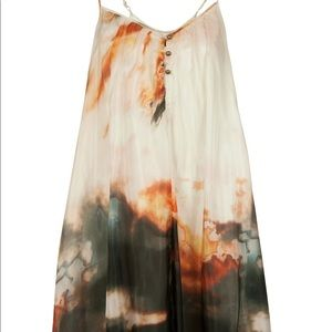 WISH Sundown Silk Dress, Fire Agate, Size S
